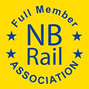 Logo Full Member NB Rail Association